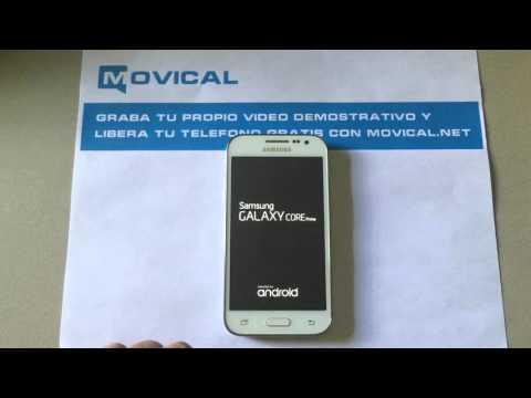 Desbloquear Samsung Galaxy Core Prime, liberar SM-G360T1 MetroPCS en Movical.Net