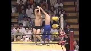 1992年学生プロレス ビガーモリタパンツ vs 越波辰爾