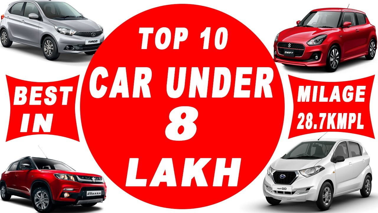 top 10 best cars in india under 8 lakh l value for money car youtube. Black Bedroom Furniture Sets. Home Design Ideas