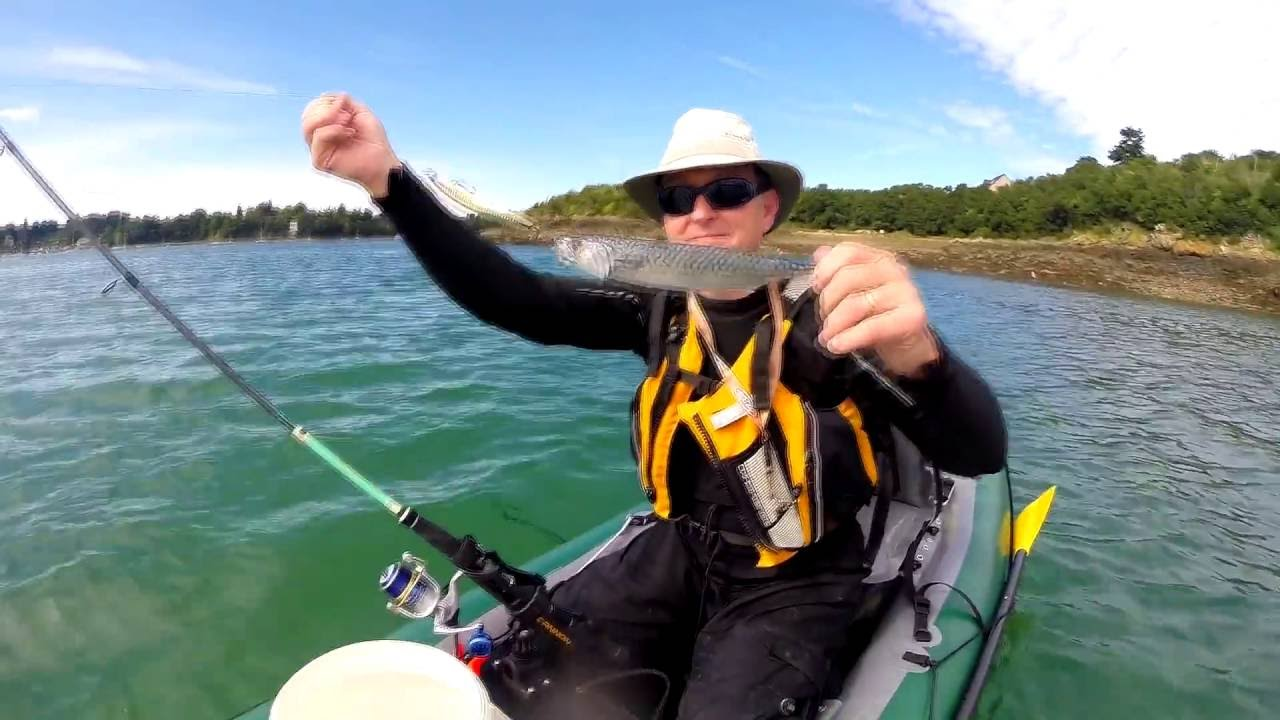 Test du kayak de p che gonflable gumotex le halibut youtube - Test kayak gonflable ...