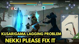 Shadow fight 3 kusarigama lagging problem| Nekki plz fix it