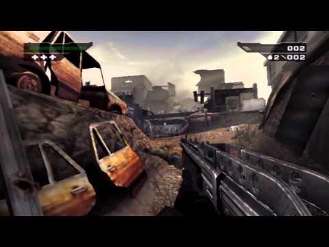 BLACK (PS2) - Mission 3: Naszran Town