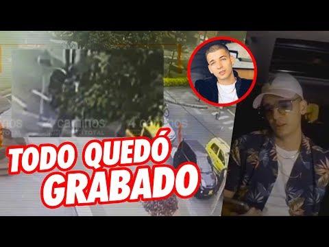 Video Exclusivo Revelan el momento exacto de lo ocurrido con Legarda