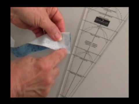 TUTORIAL Fastcut Dresden Plate Template YouTube - Dresden plate template