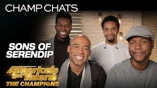 Sons of Serendip Speaks On Their Life-Changing AGT Experience - America's Got Talent: The Champions