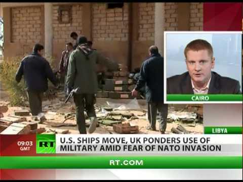 US ships, UK planes near Libya amid fears of NATO invasion