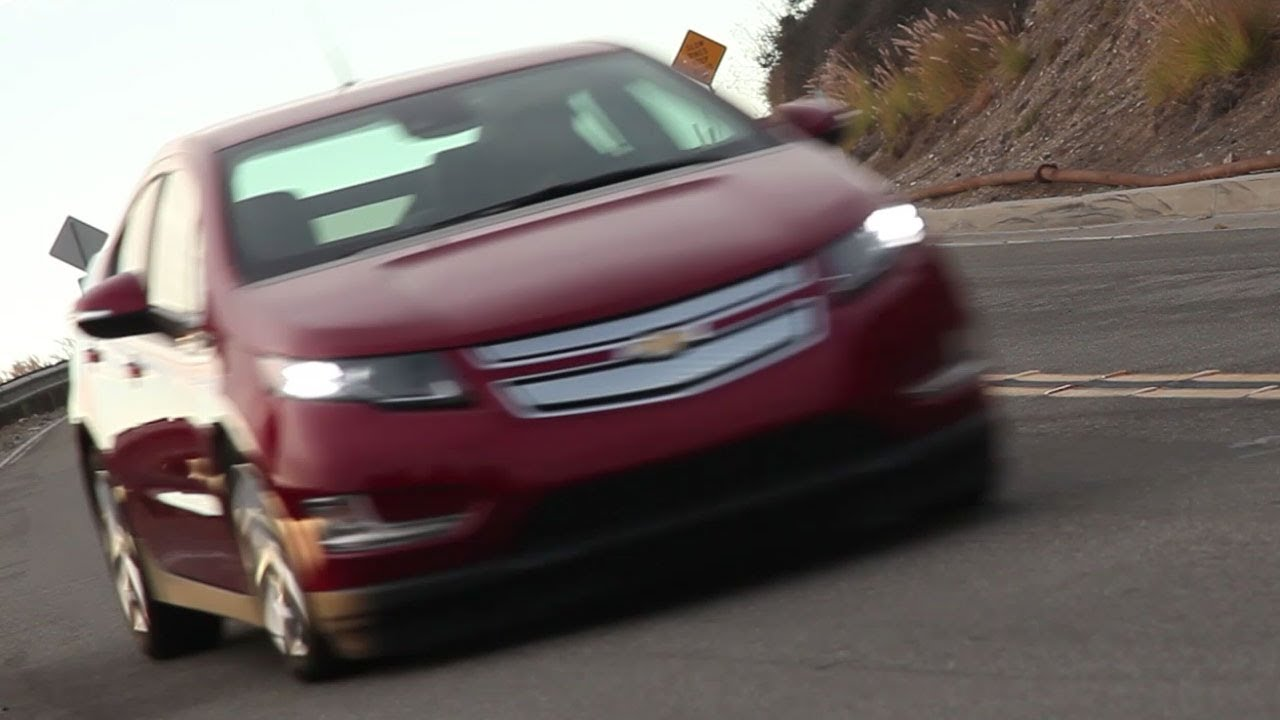 2014 Chevrolet Volt Review - TEST/DRIVE - YouTube