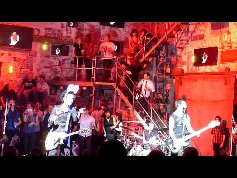 Green Day - Welcome to Paradise/ Longview @ American Idiot Musical, NYC April 24, 2011