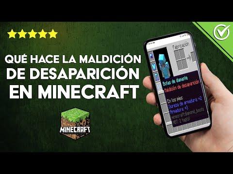 ¿Qué hace la Maldición de Desaparición en Minecraft y Cómo Podemos Evitar que nos Afecte?