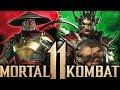 Mortal Kombat 11 - Dragon Shao Kahn & Dark Raiden Explained! Weapon Stances & More!