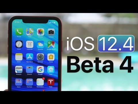 iOS 12.4 Beta 4 - What's New?