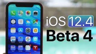 iOS 12.4 Beta 4 - What's New?