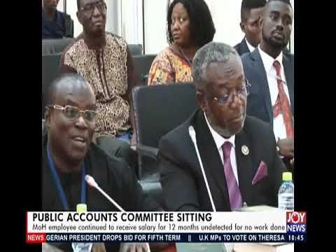 Public Accounts Committee Sitting - News Desk on JoyNews (12-3-19)