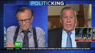 «Si ce n'est pas de la censure...» : Lavrov s'inquiète de la loi française contre les fake news