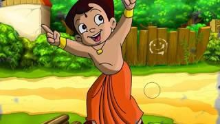 How to draw chota bheem & learn colors cartoon and coloring cartoon chhota bhim coloring page