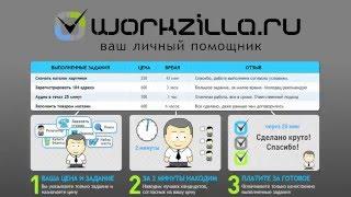 Система стабильной удалённой работы на дому на сервисе фриланса - Workzilla