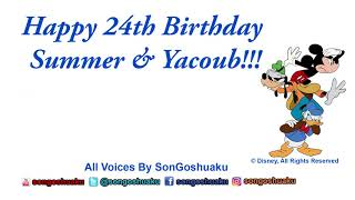 SonGoshuaku wishes A Happy Birthday Day To His Friends Summer & Yacoub