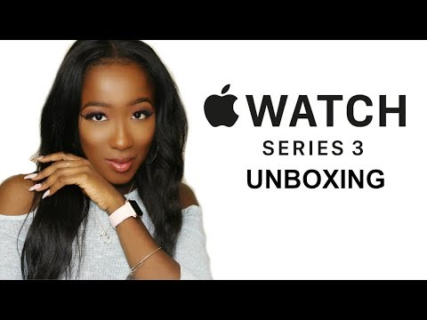 Apple Watch Series 3 Unboxing Video *Rose Gold 38mm*