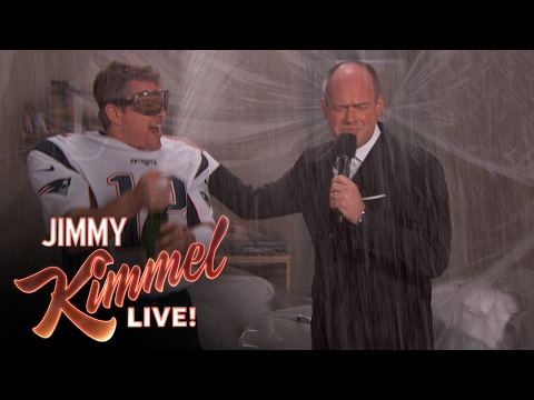 Rich Eisen Interviews Matt Damon After Kimmel Appearance