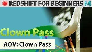 Redshift For Beginners - AOV - Clown Pass