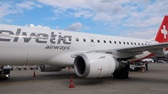 Helvetic Airways (for Swiss) | Zürich to London City on an Embraer E190