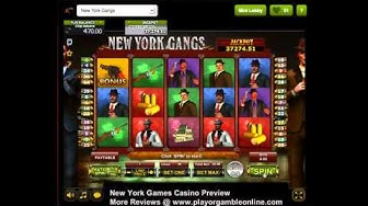 New York Gangs Video Slot
