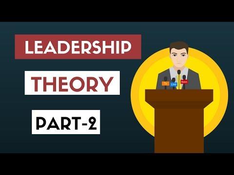 Leadership Theory  Part-2 : Behavioural Theories (Hindi)- B.COM, M.COM, NET, SET