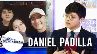 Daniel Padilla admits that he never resented his father | TWBA