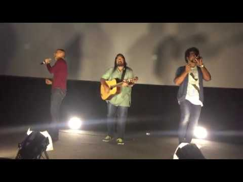 Azhagiye Unplugged Impromptu Performance - Haricharan, Arjun Chandy & Keba Jeremiah