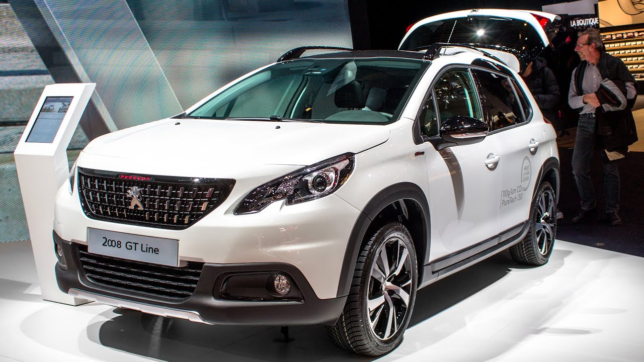 new peugeot 2008 gt line geneva motor show 2016 hq youtube. Black Bedroom Furniture Sets. Home Design Ideas