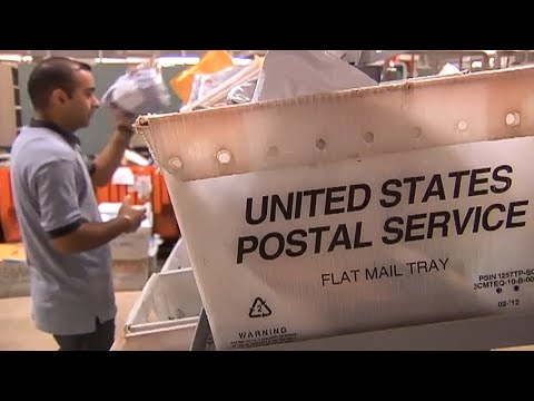 What Does A USPS Facility Look Like During The Holiday?