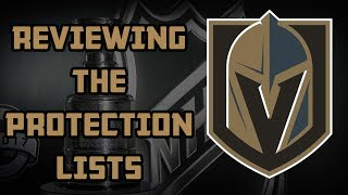 NHL News - Reviewing All NHL Teams Protection Lists