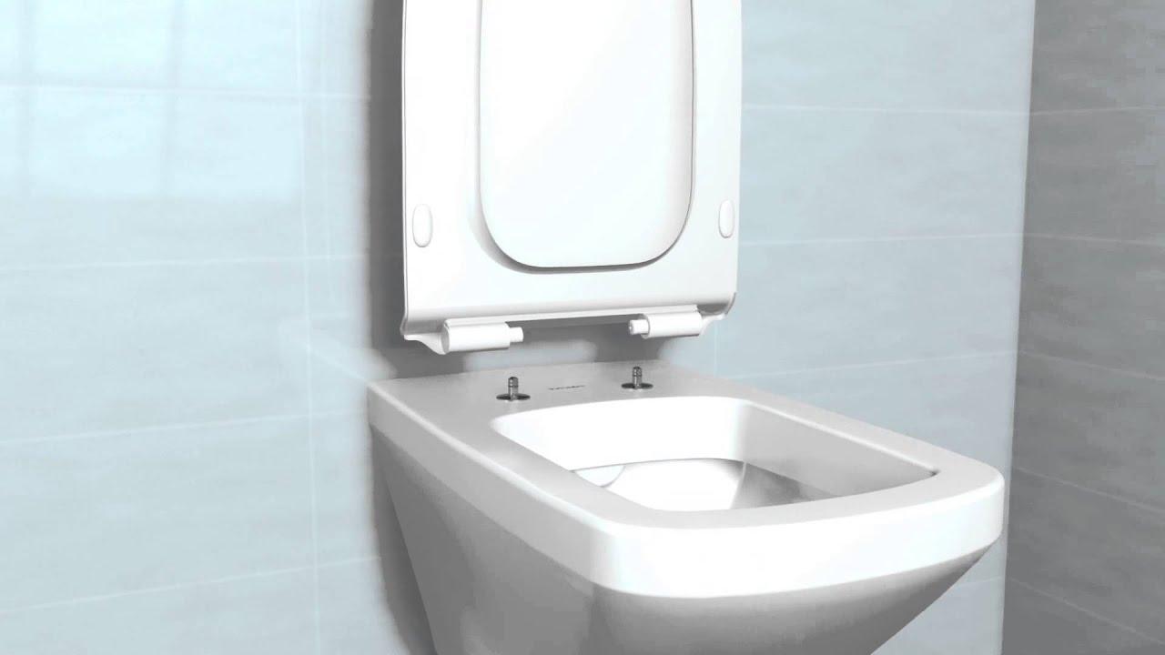 Duravit durastyle montare capac wc softclose