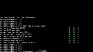 nfs - redhat 6.4 tutorial