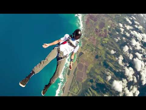 The Chainsmokers  Wake Up Alone  Ft Jhené Aiko SkyDiving 2017