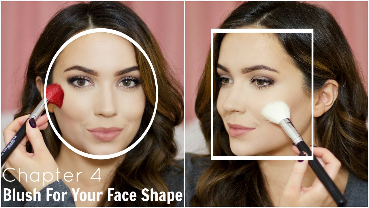 How To Apply Blush For Your Face Shape  Chapter 4 - Youtube-6413