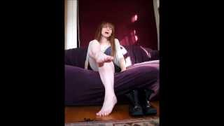 Repeat youtube video Smell My nasty old boots, foot freak!