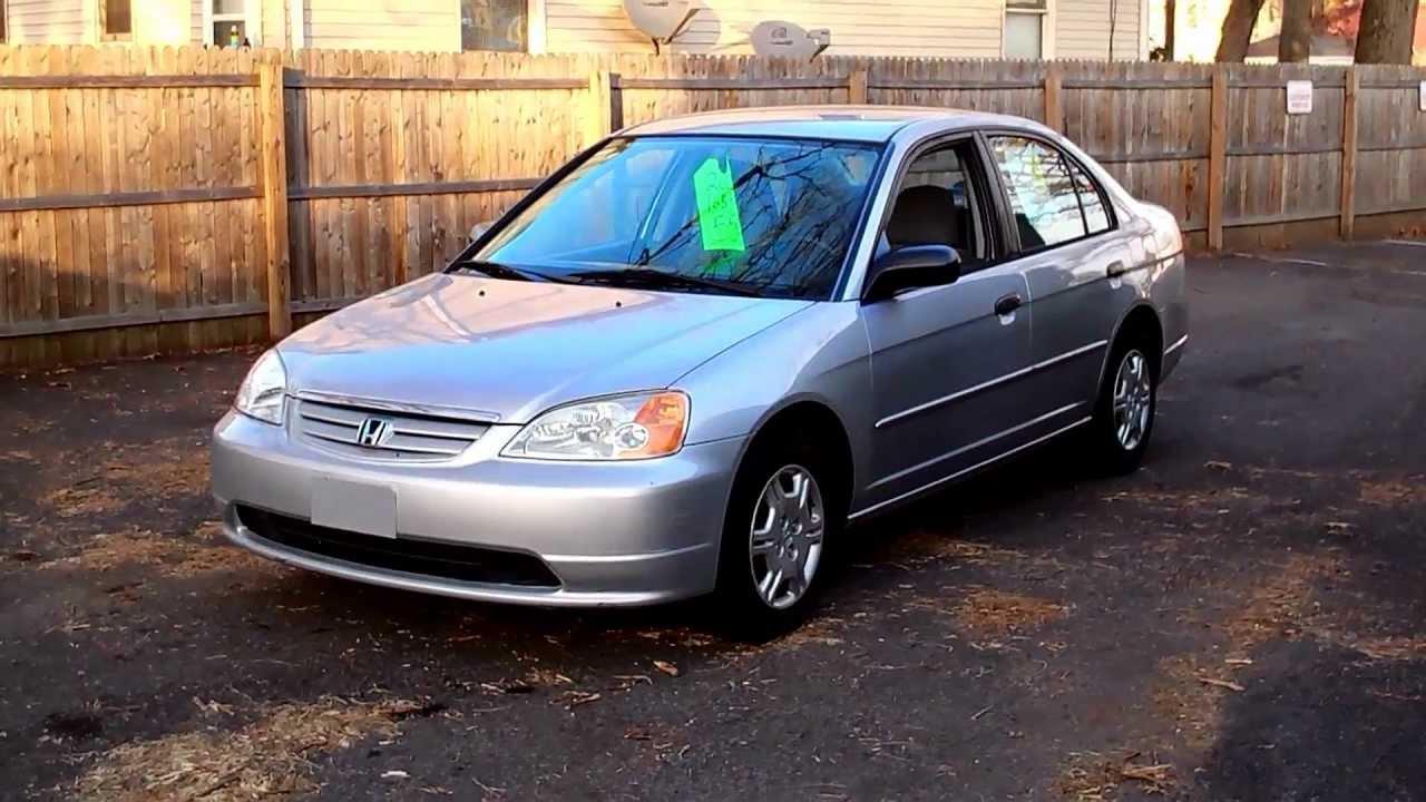 2001 Honda Civic Lx Sedan 4dr 1 7l 4cyl At Youtube