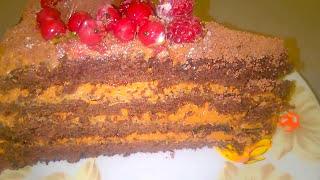 Шоколадный Торт Черный Принц, очень нежный и вкусный/Пошаговый рецепт Торта.