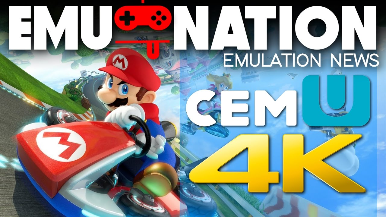EMU-NATION: Wii-U Emulator now Running Mario Kart 8 at 4K!