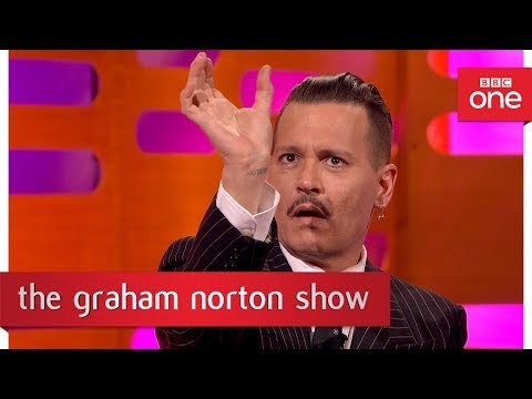 Download Youtube: Johnny Depp dressed up as Jack Sparrow at Disneyland - The Graham Norton Show: 2017 - BBC One