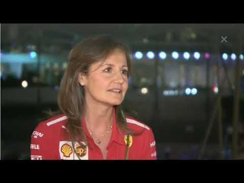 Abu Dhabi 2018 Interview with Stefania Bocchi - Kimi Räikkönen is very special!