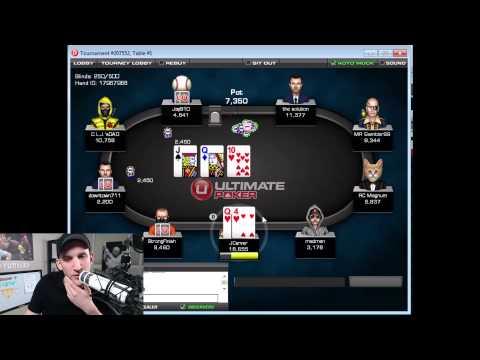 Run it UP! #54 - $40 Multitable Tournament