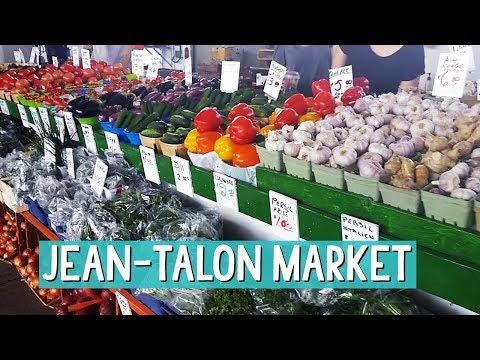 Marché Jean-Talon Market - the ultimate Farmer's Market in Montreal - S02E04