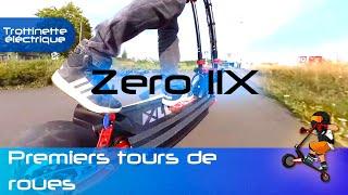 Premier test de la Zero 11X, une trottinette électrique Monstrueuse !