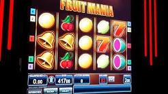 Fruitmania  die Risiko-Leiter wird kaputt gemacht Bally Wullf Merkur Magie Spielhalle