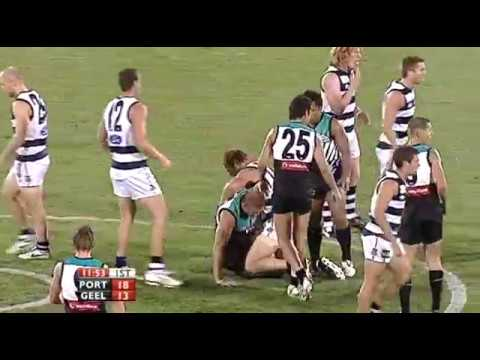 2008 AFL Round 1 Port Adelaide Power v Geelong Cats (Full Game)