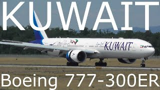 KUWAIT AIRWAYS Boeing 777-300ER (9K-AOJ) at Frankfurt Airport (EDDF)