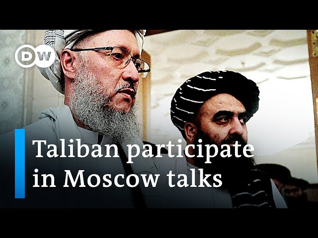 Taliban in Moscow: Is the Kremlin accepting them as Afghanistan's official government? | DW News