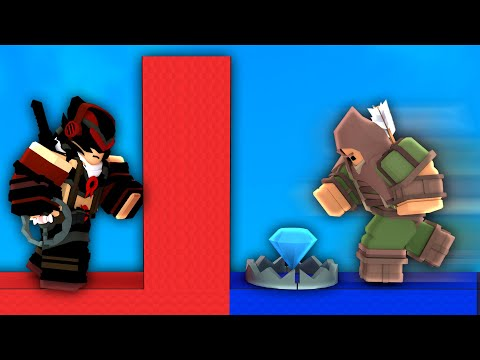I trolled players with TRAPS in Roblox Bedwars..